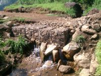 A Stream Crossing on the new road